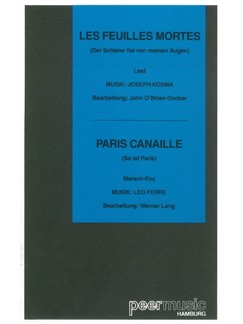 Autumn Leaves/Paris Canaille (Salon Orchestra) Books | Orchestra