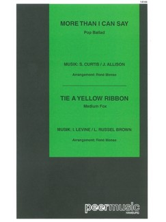More Than I Can Say / Tie A Yellow Ribbon (Salonorchester) Books | Orchestra