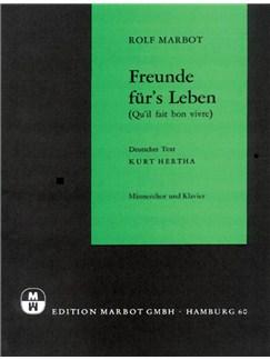 Rolf Marbot: Freunde Fur's Leben Books | Voice, Piano Accompaniment