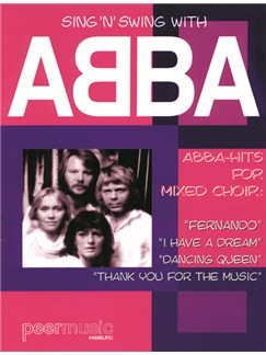 Sing 'n' Swing With ABBA (SATB) Livre | SATB, Guitare