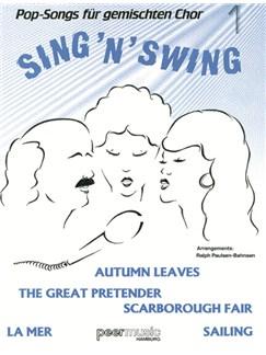 Sing'n'Swing. Pop-Songs Für Gemischten Chor 1 Buch | SATB (Gemischter Chor), Gitarre
