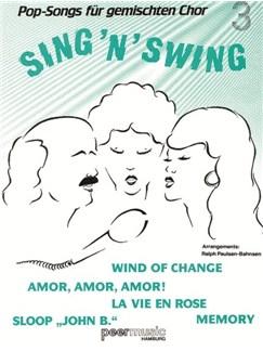 Sing'n'Swing. Pop-Songs Für Gemischten Chor 3 Buch | SATB (Gemischter Chor), Gitarre