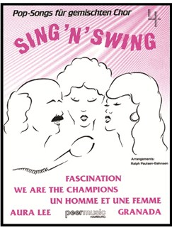 Sing'n'Swing. Pop-Songs Für Gemischten Chor 4 Books | SATB, Guitar