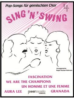 Sing'n'Swing. Pop-Songs Für Gemischten Chor 4 Buch | SATB (Gemischter Chor), Gitarre