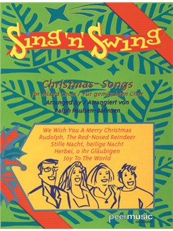 Sing'n'Swing - Christmas-Songs Books | SATB, Guitar