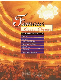 Famous Opera Themes For Mixed Choir (SATB) Buch | SATB (Gemischter Chor)