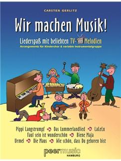 Wir Machen Musik! Liederspaß Mit Beliebten TV-Melodien Books | High Voice, Piano Accompaniment