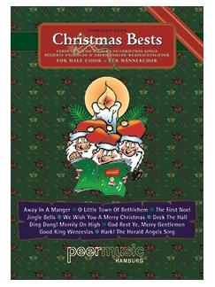 Christmas Bests - 10 Weihnachtslieder Für Männerchor Books | TTBB, Piano Accompaniment