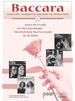 Baccara - Greatest Hits (Für Frauenchor) Livre | SSA