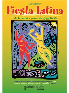 Fiesta Latina Satb Vocal Score Bk/Cd Books |