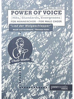 Power Of Voice - Lied Der Wolgaschlepper (Für Männerchor TTBB) Books | TTBB, Piano