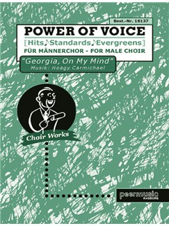 Power Of Voice - Georgia, On My Mind (Für Männerchor TTBB) Books | TTBB