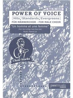 Power Of Voice - Un Homme Et Une Femme/Mein Herz Schlägt Daba Daba Dab (Für Männerchor TTBB) Books | TTBB, Piano