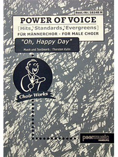 Power Of Voice - Oh, Happy Day (Für Gemischtchor SATB) Books | SATB, Piano