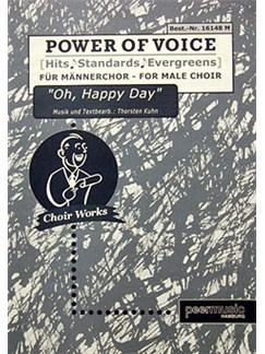 Power Of Voice - Oh, Happy Day (Für Männerchor TTBB) Books | TTBB, Piano