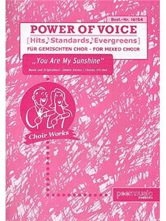 Power Of Voice - You Are My Sunshine (Für Gemischtchor SATB) Books | SATB, Piano