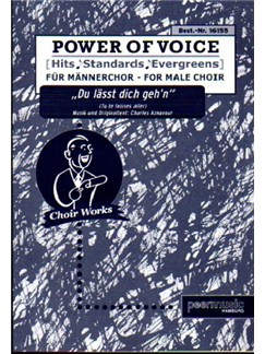 Power Of Voice -  Du Lässt Dich Gehen (Für Männerchor TTBB) Books | TTBB