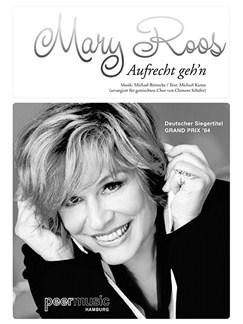 Mary Roos: Aufrecht Geh'n (Für Gemischtchor SATB Mit Klavier) Books | SATB, Piano