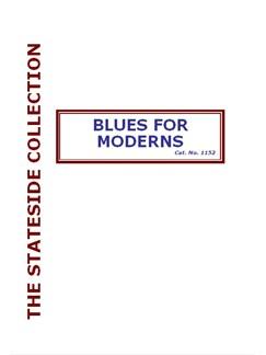 Reg Owen: Blues For Moderns Books | Big Band