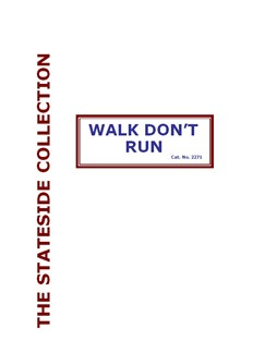 Johnny Smith: Walk Don't Run Books | ig Band