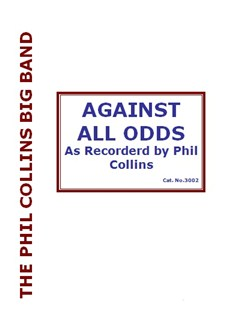 Phil Collins: Against All Odds (Original Big Band) Books | Big Band