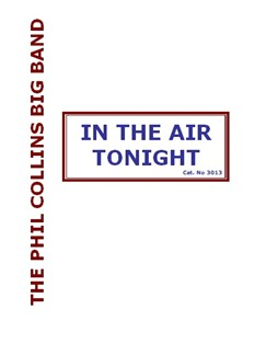 Phil Collins: In The Air Tonight (Big Band) Books | Big Band