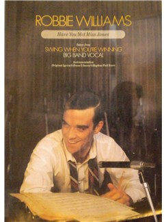 Richard Rodgers: Have You Met Miss Jones (Robbie Williams) Books | Big Band & Concert Band