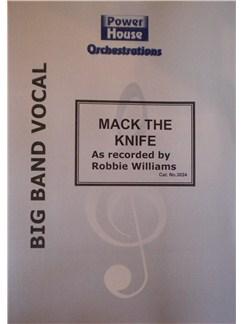 Robbie Williams: Mack The Knife Books | Big Band & Concert Band