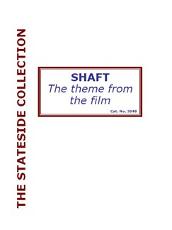 Isaac Hayes: Theme From Shaft (Big Band) Books | Big Band