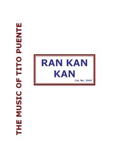 Tito Puente: Ran Kan Kan (Big Band) Books | Big Band