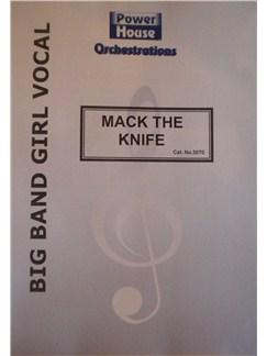 Kurt Weill: Mack The Knife Books | Big Band & Concert Band