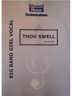 Richard Rodgers: Thou Swell Books | Big Band & Concert Band