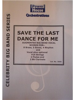 Michael Buble: Save The Last Dance For Me Books | Big Band & Concert Band