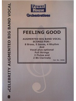 Micheal Buble: Feeling Good Books | Big Band & Concert Band