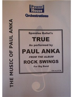 Paul Anka: True (Arr. Cy Payne) Books | Big Band & Concert Band