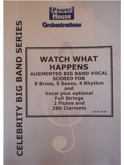 Tony Bennett: Watch What Happens (Arr. Cy Payne) Books | Big Band & Concert Band