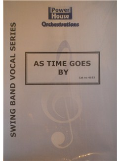Arr. Cy Payne: As Time Goes By Books | Big Band & Concert Band
