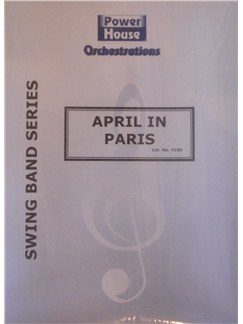 Arr. Cy Payne: April In Paris Books | Big Band & Concert Band