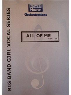 Gerald Marks/Seymour Simons: All Of Me (Arr. Cy Payne) Books | Big Band & Concert Band