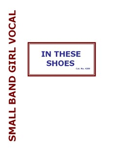 Kirsty MacColl/Peter Glenister: In These Shoes (Small Band Female Vocal) Books | Alto Saxophone, Tenor Saxophone, Baritone Saxophone, Trumpet, Trumpet, Trombone, Voice, Piano Accompaniment, Guitar, Bass Guitar, Drums