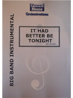 Henry Mancini: It Had Better Be Tonight (Arr. Cy Payne) Books | Big Band & Concert Band