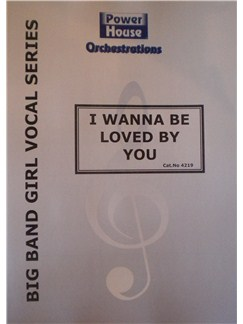 Marilyn Monroe: I Wanna Be Loved By You Books | Big Band & Concert Band