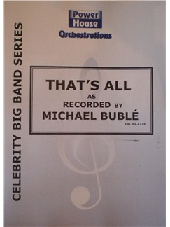 Michael Buble: That's All Books | Big Band & Concert Band