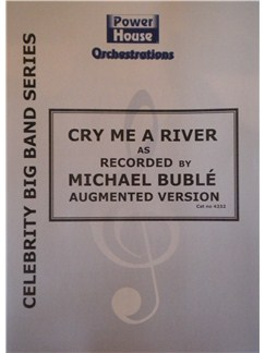 Michael Buble: Cry Me A River (Arr. Cy Payne) Books | Big Band & Concert Band