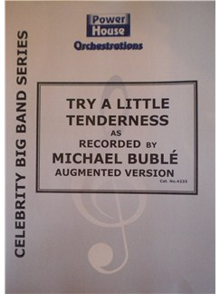 Michael Buble: Try A Little Tenderness (Arr. Cy Payne) Books | Big Band & Concert Band