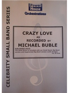 Van Morrison: Crazy Love (Michael Buble) (Arr. Cy Payne) Books | Big Band & Concert Band