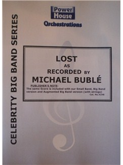 Michael Buble: Lost Books | Big Band & Concert Band