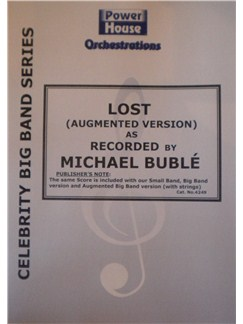 Michel Buble: Lost (Arr. Cy Payne) Books | Big Band & Concert Band