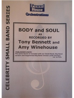Amy Winehouse/Tony Bennett: Body And Soul (Arr. Cy Payne) Books | Big Band & Concert Band