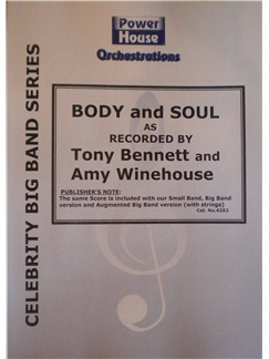 Tony Bennett/Amy Winehouse: Body And Soul (Arr. Cy Payne) Books | Big Band & Concert Band